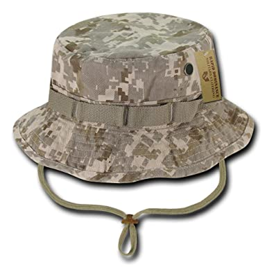 222224abe1143 Amazon.com  Rapid Dominance Washed Cotton Military Boonie Hat with  Drawstring  Clothing