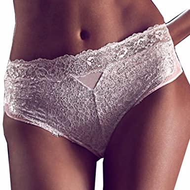 6ad34f30a5a3 Victoria's Secret Dream Angels Pink Wicked lace Metallic Panty Large ...