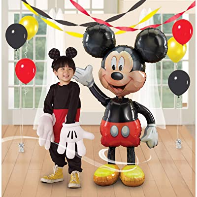Mickey Airwalker Balloon (Each) - Party Supplies: Toys & Games