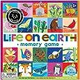 eeBoo Life on Earth Memory Matching Game