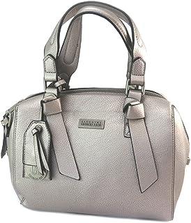GEORGES RECH P2894 - Sac créateur gris métal - 27x18.5x13.5 cm