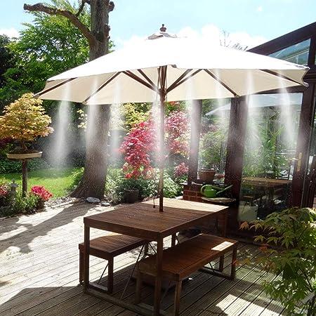 Weeygo Kit Nebulizador Jardin, Sistema de Nebulizacion para ...
