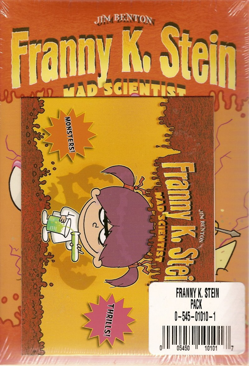 Download Franny K. Stein 5 Pack (Lunch Walks Among Us, Attack of the 50-Ft. Cupid, The Invisible Fran, The Fran That Time Forgot, Frantastic Voyage) pdf epub