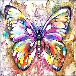 Homeofying farfalle colorate 5D pittura diamante ricamo DIY Art Craft Handmade Decor–7154