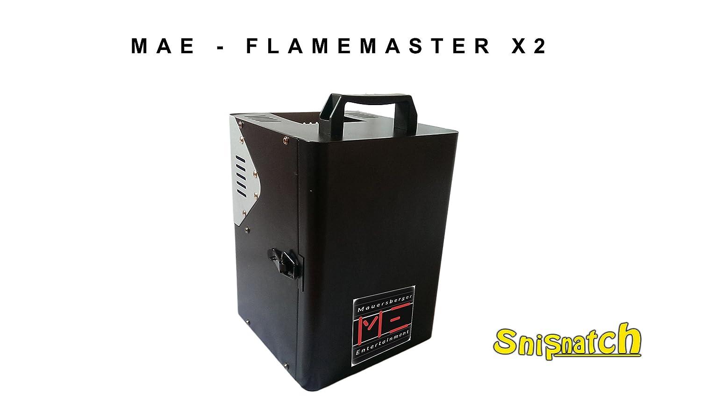 Mae Flame Master X2 – fuego proyector – fuego Efecto – Llamas ...
