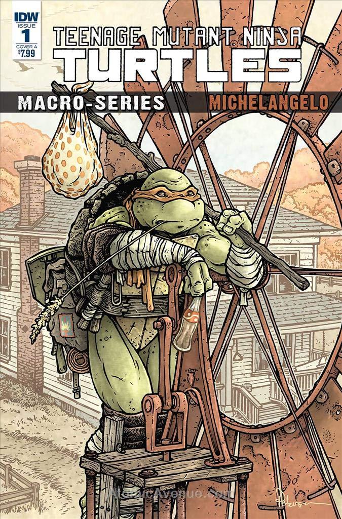 Amazon.com: Teenage Mutant Ninja Turtles: Macroseries #2A VF ...