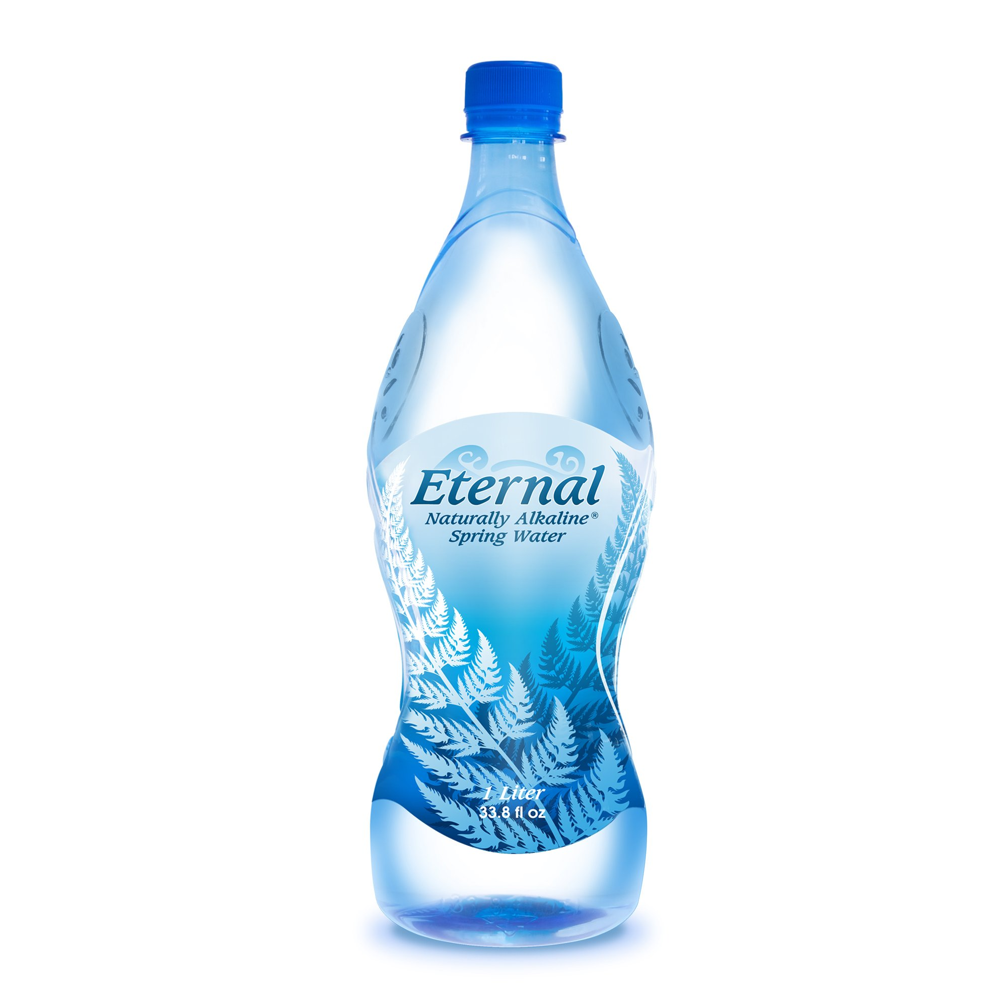 Eternal Water Naturally Alkaline Spring Water, 1 Litre, 12 Count