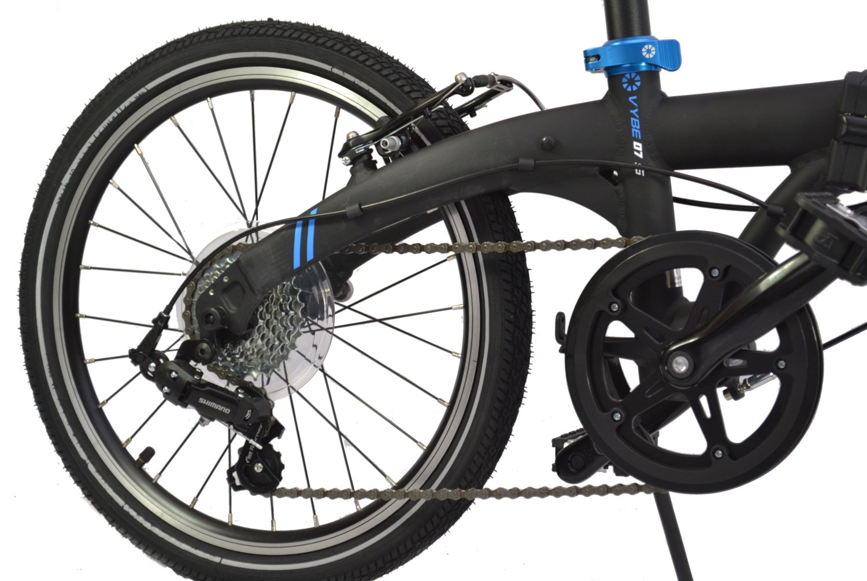 Dahon - Vybe 2017 - Bicicleta plegable D7 con ruedas de 20 pulgadas, 7 velocidades, 12,3 kg: Amazon.es: Deportes y aire libre