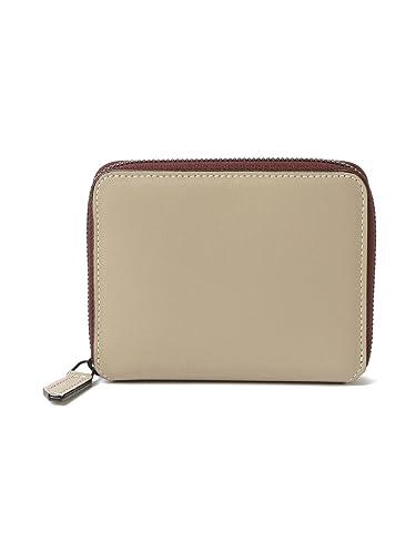 efa99fa65854 Demi-Luxe BEAMS L'arcobaleno (ラルコバレーノ) 財布 ミニ ジップ ウォレット レディース トープ