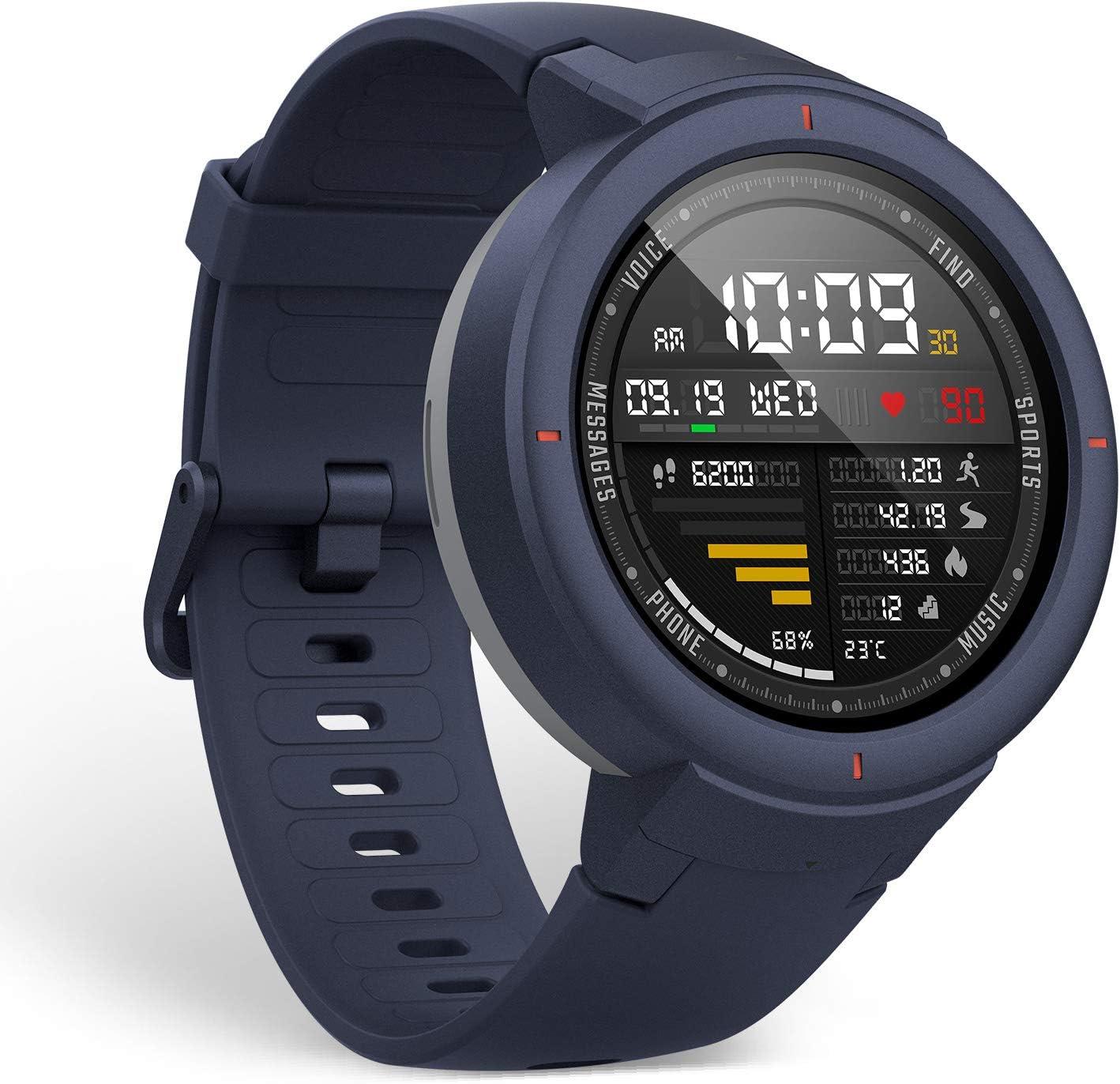 Amazfit Verge Smartwatch con Alexa integrada - Reloj Inteligente Verge A1811, Pantalla AMOLED de 1,3 Pulgadas, monitoreo de frecuencia cardíaca y Seguimiento de Actividad