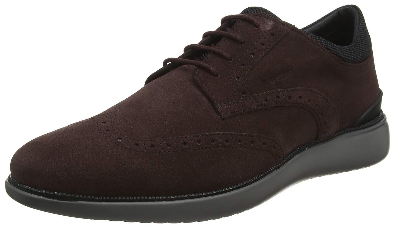 Geox U Winfred E, Zapatos de Cordones Brogue para Hombre