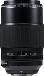 Fujifilm Fujinon XF80 mm - Objetivo (F2.8 R LM OIS WR Macro) Color Negro