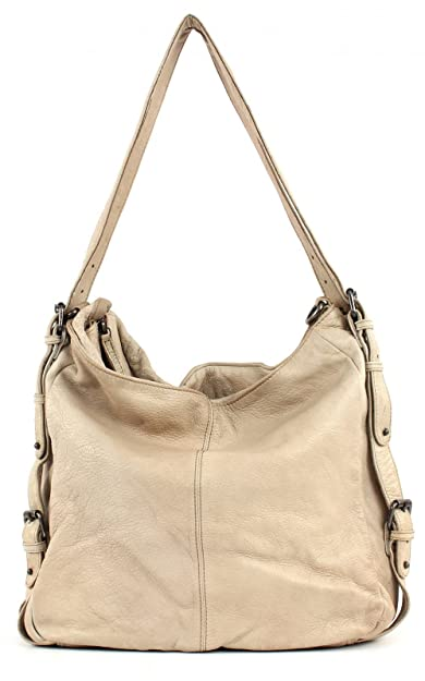 designer fashion online here los angeles FREDsBRUDER Tasche - Tacken - Beige: Amazon.de: Schuhe ...