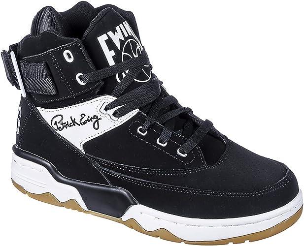 Patrick Ewing - Zapatillas de piel/sintético para hombre ...