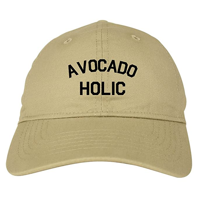 5a51626aa4508 Amazon.com  FASHIONISGREAT Avocado Holic Foodie Food Dad Hat Baseball Cap  Beige  Clothing