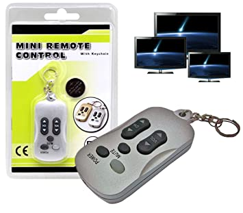 Llavero 2 en 1 con función mando a distancia para la TV ...