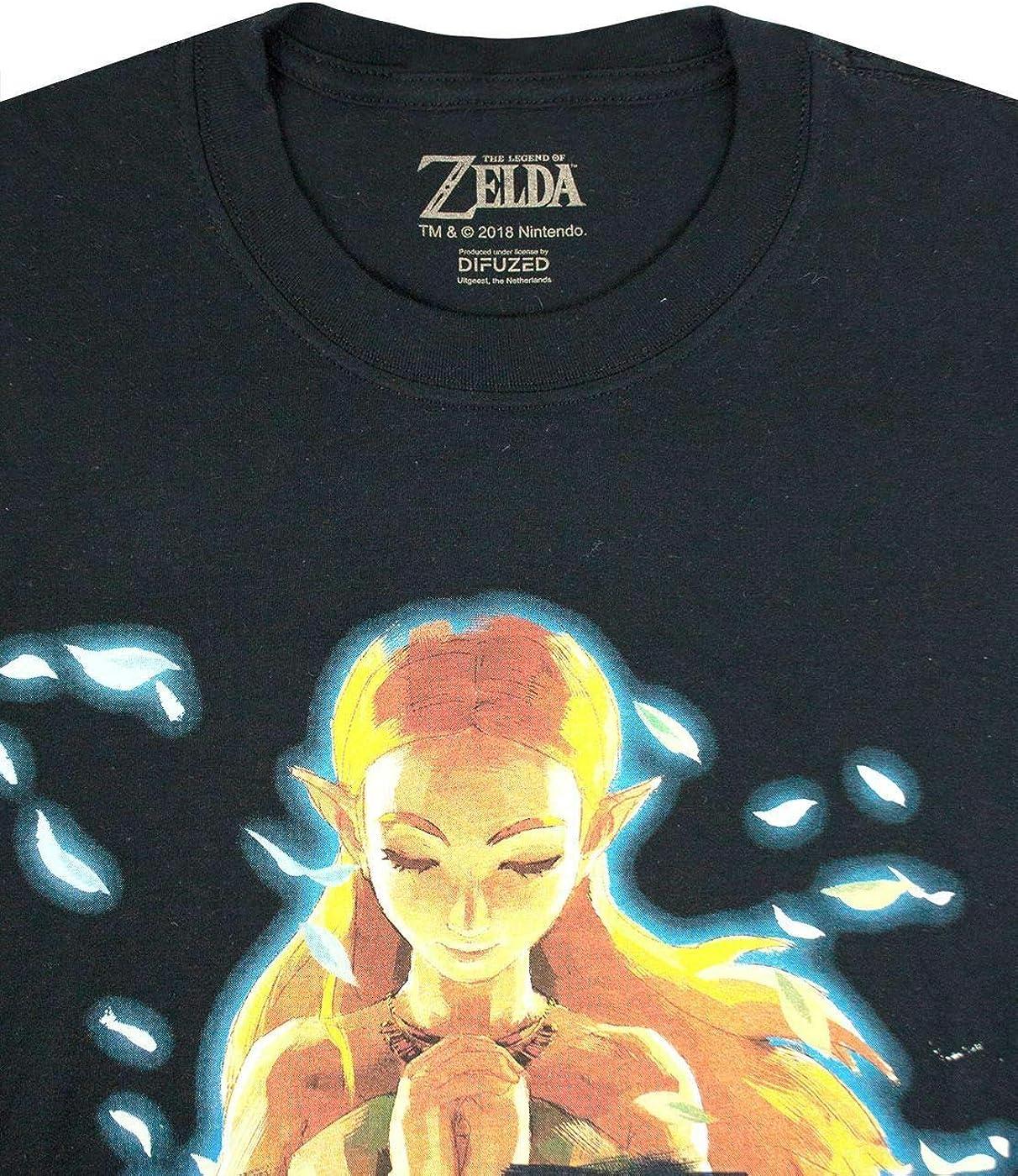 The Legend of Zelda Breath of The Wild Mens Short Sleeve T-Shirt