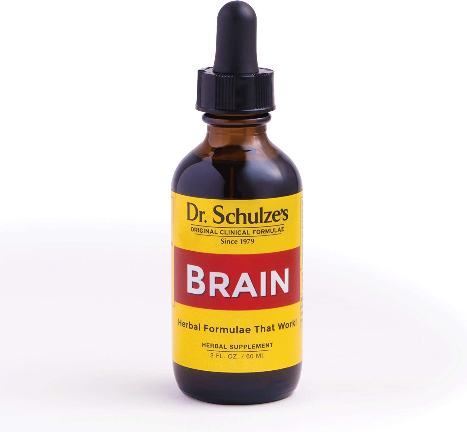Brain Formula 2 oz. - Vegan and Wild-Harvested | Stimulates Circulation and and Improved Mental Focus