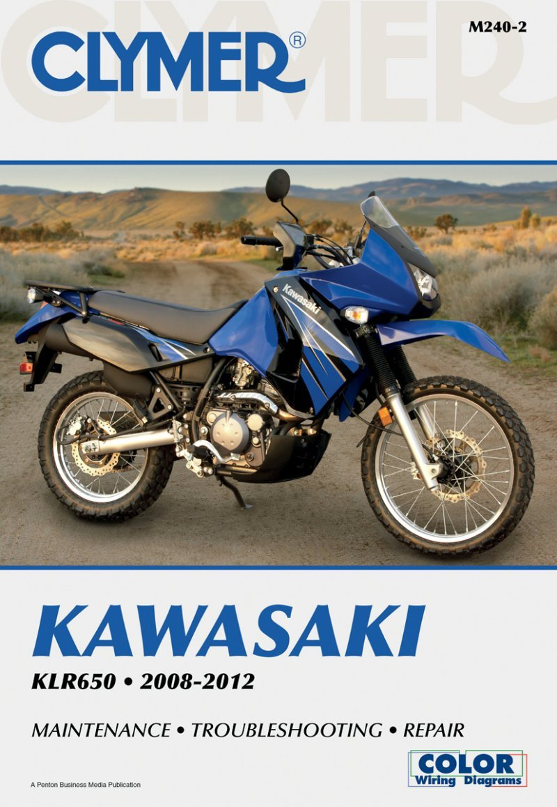 Amazon.com: Clymer Repair Manual for Kawasaki KLR650 KLR 650 2008-2012:  Automotive