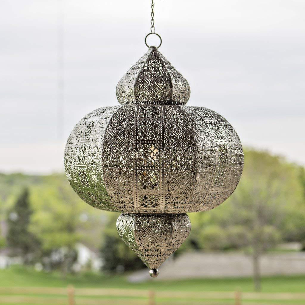 Intricate Hanging Moroccan Lanterns Decorative