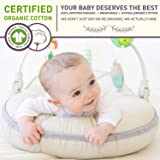 Organic Newborn Lounger | Water Proof | Portable