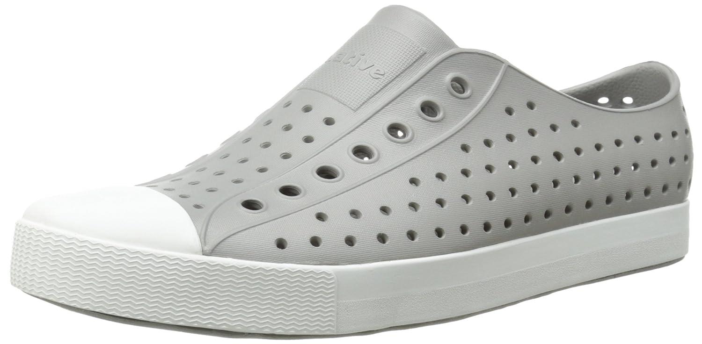 native Jefferson Water Shoe B00Q7NYXPM 5 US Men/7 US Women|Pigeon Grey/Shell White