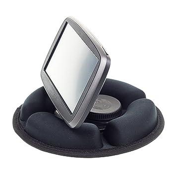 DigichargeR Weighted Friction Beanbag Dashboard Dash Mount Holder For GPS Sat Nav Fits Garmin TomTom