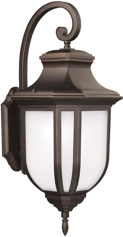 Sea Gull Lighting 8636301EN3-71 Medium One Light Outdoor Wall Lantern Antique Bronze