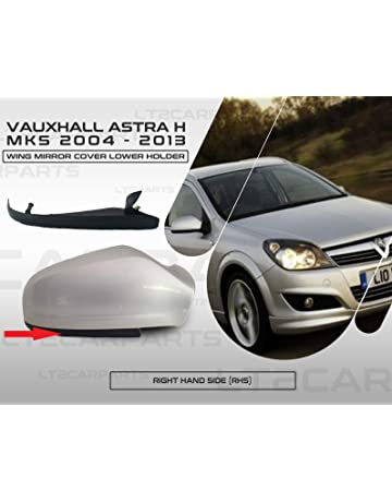 VAUXHALL ZAFIRA 59 ONWARDS PAIR OF WING MIRROR COVERS LH /& RH SIDE GLOSS BLACK