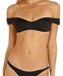 6e69aa4454199 Amazon.com  Vitamin A Women s Ambrosia Capri Off The Shoulder Bikini ...