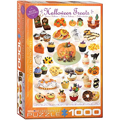 EuroGraphics Halloween Treats 1000 Piece Puzzle: Toys & Games