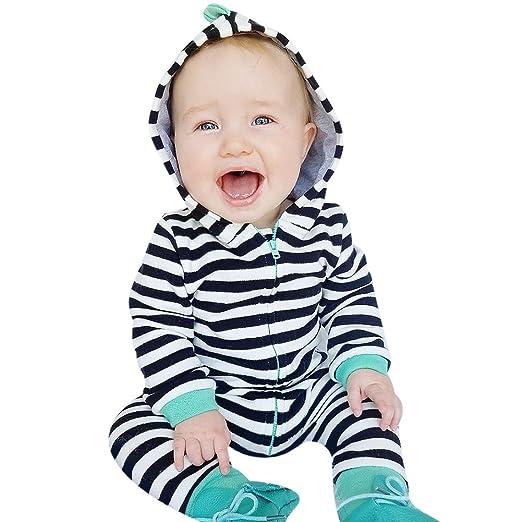 10a26ffd61fd Amazon.com  chinatera Baby Boys Girls Fall Winter Clothes Long ...