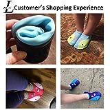 L-RUN Children's Swim Shoes for Kids Anti-Skid