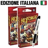 Bundle 2x Keyforge - Mazzo Il Richiamo degli Arconti (IT) + Penna Fantàsia!