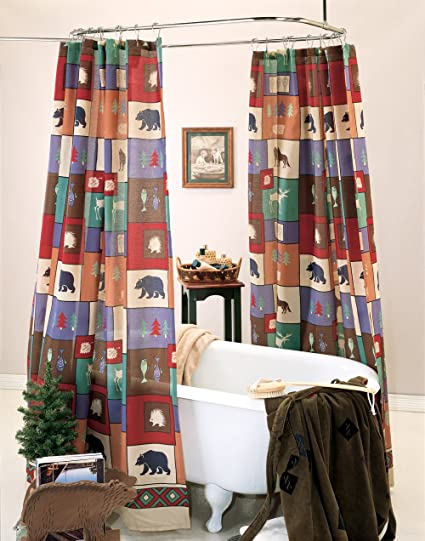 Image Unavailable Not Available For Color The Woods Shower Curtain