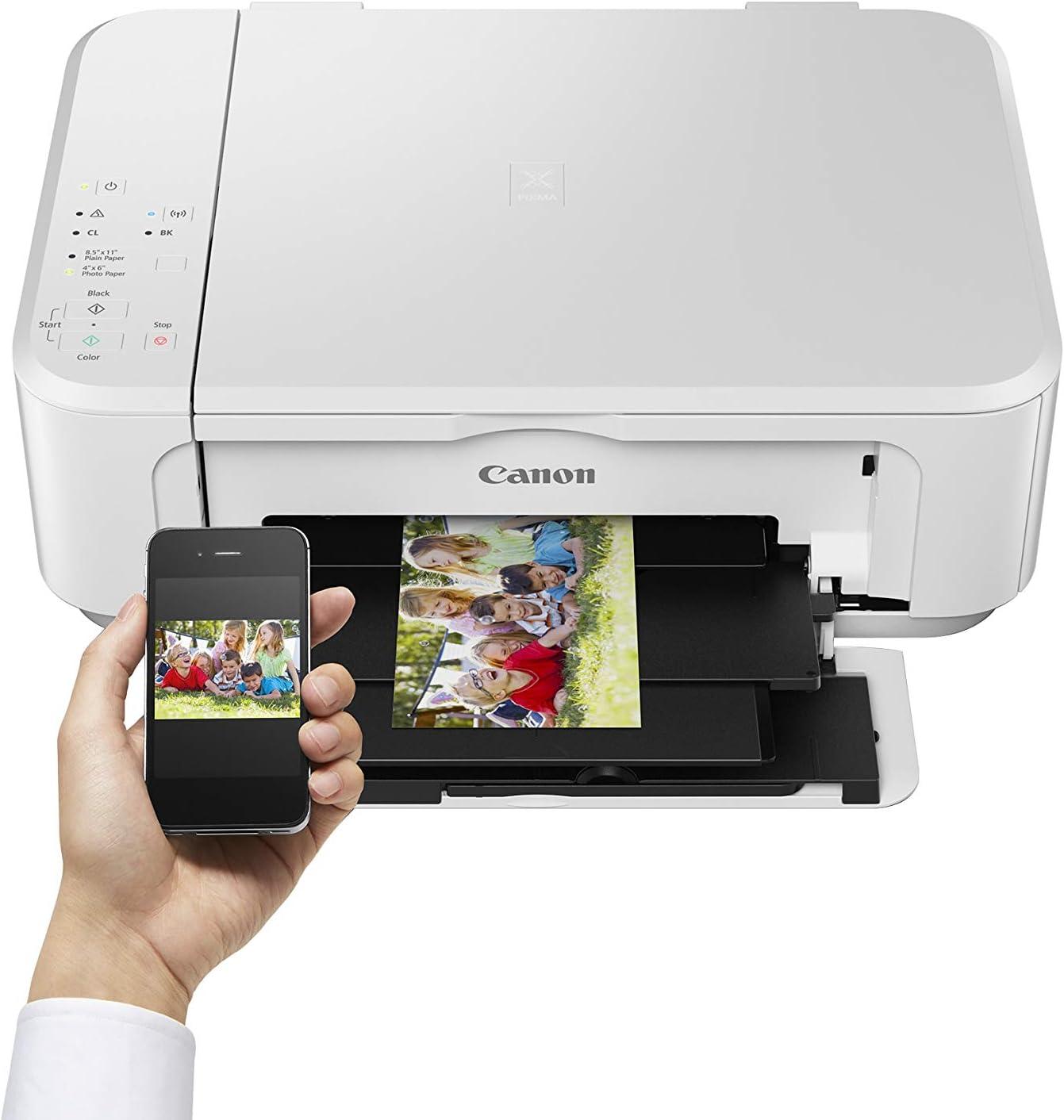 Impresora Multifuncional Canon PIXMA MG3650S Blanca Wifi de ...