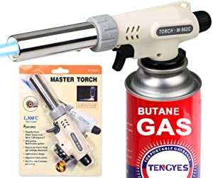 Sweepstakes: Kitchen Butane Blow Torch Lighter - Culinary...