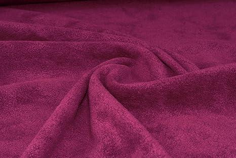 Red Anti Polar Fleece Fabric Material Anti Pill Blankets Soft Warm Fabric