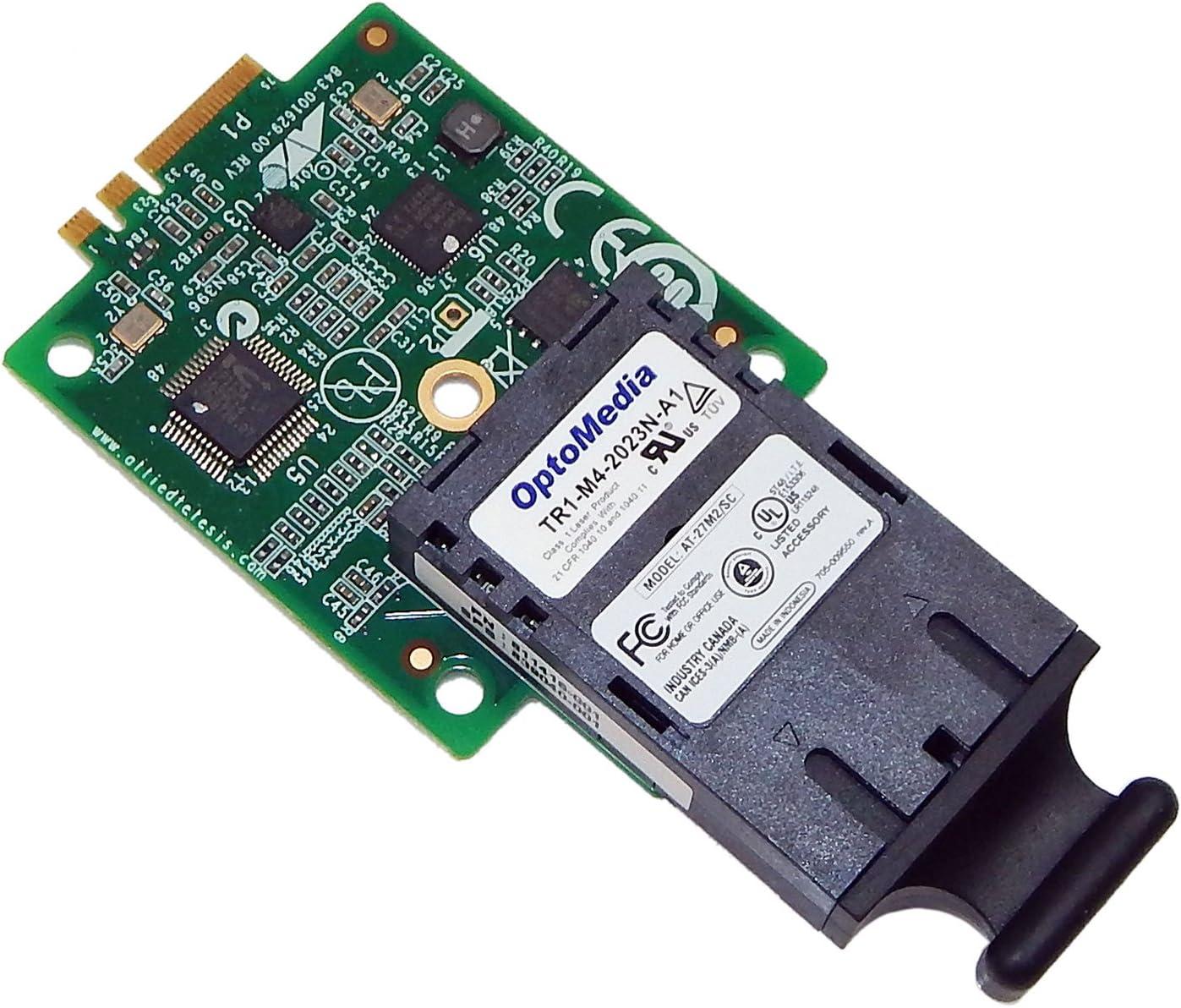 HP Allied Telesis AT-27M2-SC MultiMode NIC 990-004931-001 AT-27M2//SC-AA-001 M.2 SC