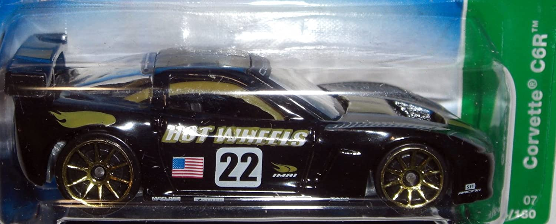 Amazon.com: Hot Wheels 2007 Treasure Hunt Corvette C6R #4/12: Toys & Games