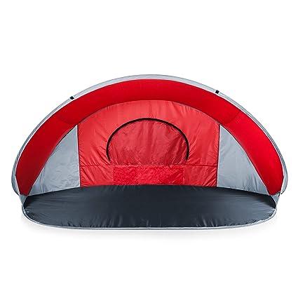 uk availability 83af4 8f79e Picnic Time Manta Portable Pop-Up Sun/Wind Shelter, Red