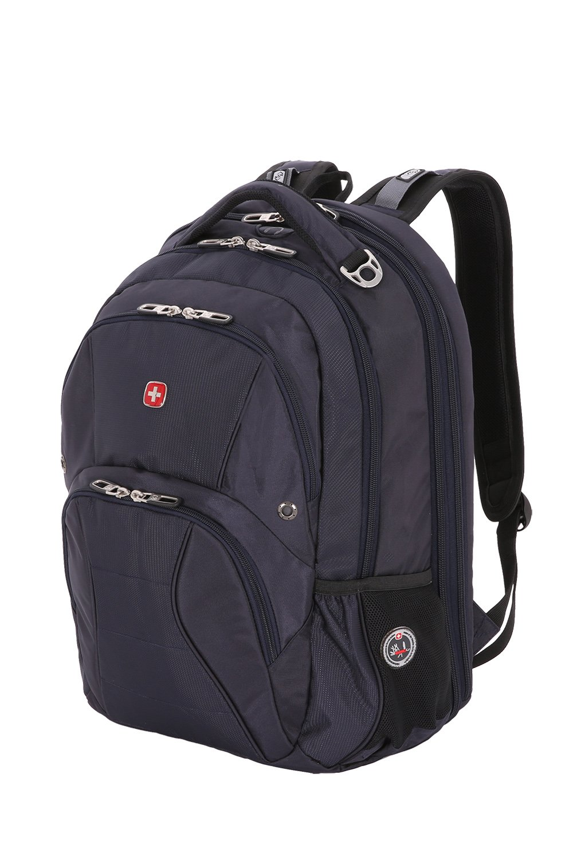 SwissGear SA1908 Noir Satin TSA Friendly ScanSmart Laptop Backpack - Fits Most 17 Inch Laptops and Tablets