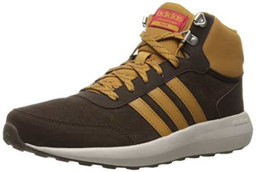 adidas neo men's cloudfoam race wtr mid running shoe
