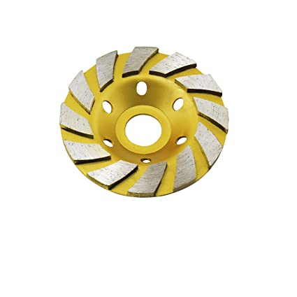 """ycnk 4 """"hormigón Turbo diamante molienda Copa Rueda para amoladora de ángulo 12 Segs"""