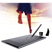 Huion Inspiroy Q11K Tableta inalámbrica Pen 2.4 G 8192 Tablero de Pintura de Dibujo gráfico de Nivel con 8 Teclas expresas