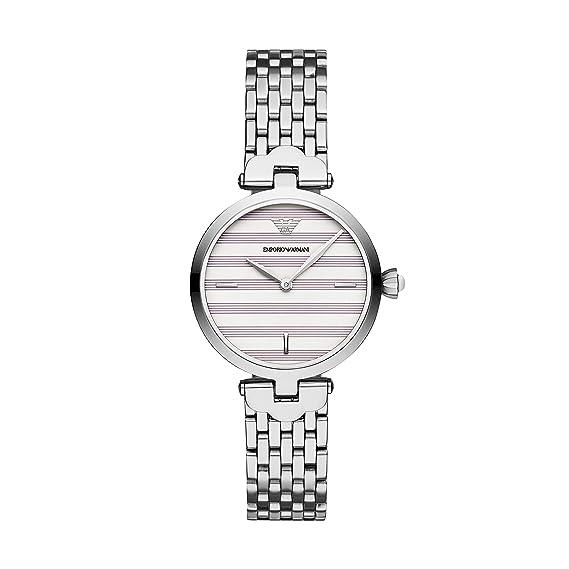 Emporio Armani Reloj Analógico para Mujer de Cuarzo con ...