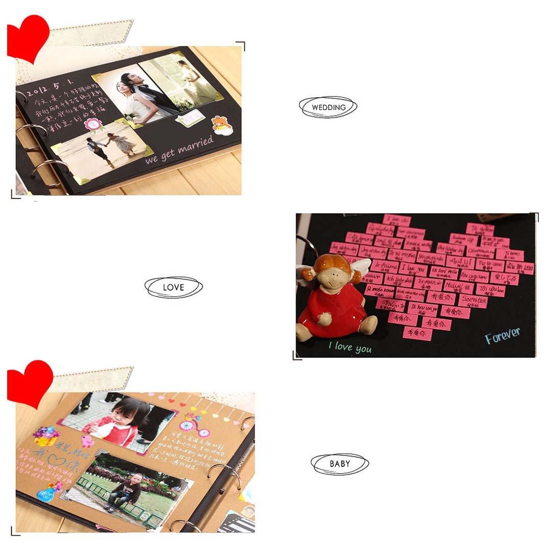 Upere Diy Scrapbook Photo Albums Scrapbooking Paper Album Supplies