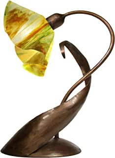 product image for Jezebel Signature TLLD-BBH-LP14-BUT Lily Style Brown with Brown Highlights Lazy Daisy Lamp, Buttercup