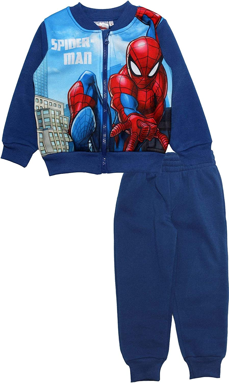 Spiderman Marvel Tuta da ragazzo con zip
