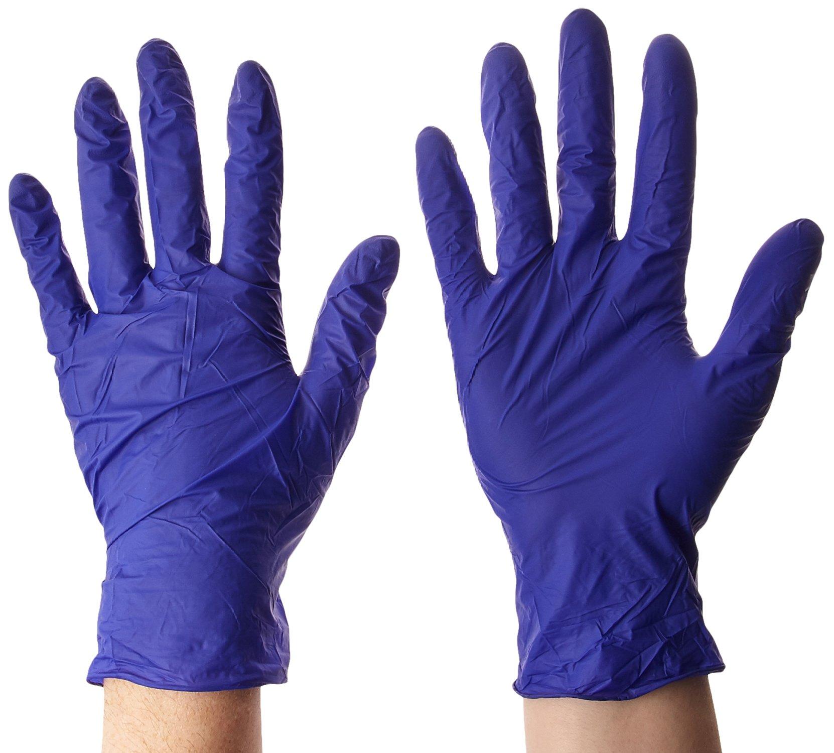 Microflex UF524M Ultraform Powder Free Nitrile Glove Size Medium Box of 300